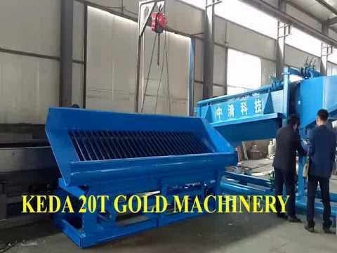 Gold machinery