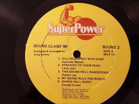 Courtney Melody - Kill A Sound Boy With Ease - Super Power LP - 1989