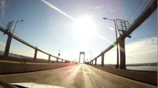 Whitestone Bridge Bronx NY (GoPro)