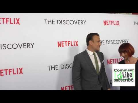 Jason Segel and Alexis Mixter at the Premiere Of Netflixs The Discovery at the Vista Theatre in Hol
