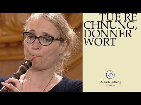 J.S. Bach - Cantata BWV 168 Tue Rechnung, Donnerwort (J.S. Bach Foundation)