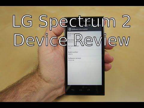 Device Review: LG Spectrum 2 from Verizon Wireless