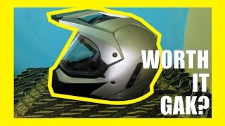 Review Helm Supermoto MTX by Yamaha