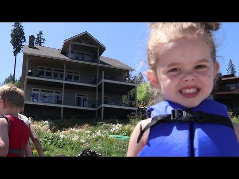 WEEKEND AT THE LAKEHOUSE!! | COEUR D'ALENE LAKE
