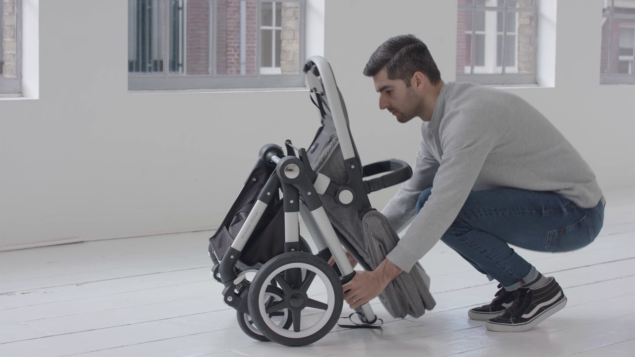 Bugaboo Stroller How To Fold Bugaboo Lynx Lightweight Stroller How To Fold Your Stroller One Piece Self Standing Fold