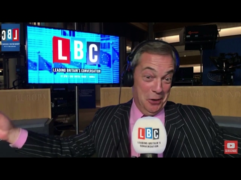 The Nigel Farage Show: Hate Crimes on the Rise After Brexit? LBC Live. Feb 15th 2017
