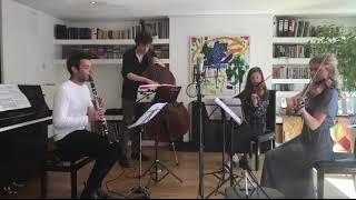 Gluck - Melodie (clarinet, violins, double bass)