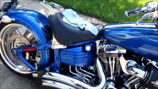 2008 Harley Davidson Rocker C Opti Coat Pro Infinite Use Detail Juice Garry Dean High End Detailing