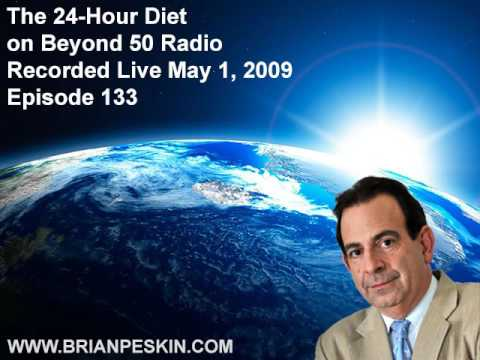 The 24-Hour Diet on Beyond 50 Radio - Episode 133