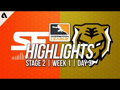 San Francisco Shock vs Seoul Dynasty   Overwatch League Highlights OWL Stage 2 Week 1 Day 3