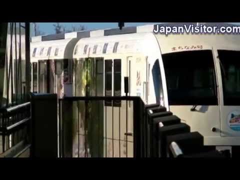 Yui Rail Monorail in Naha Okinawa Japan