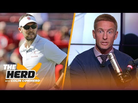 Joel Klatt gets heated about the first CFP rankings & Is Lincoln Riley NFL bound? | CFB | THE HERD