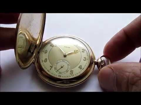 Favor Hunter Case Pocket Watch