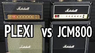 MARSHALL JCM800 vs PLEXI - New STUDIO CLASSIC vs. STUDIO VINTAGE