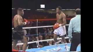 Mike Tyson VS Larry Holmes.