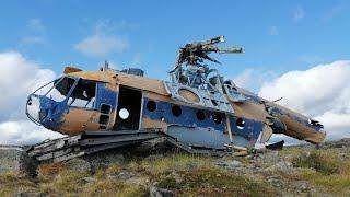 Катастрофа!!! вертоліт Мі - 8Т. 13.01.1997