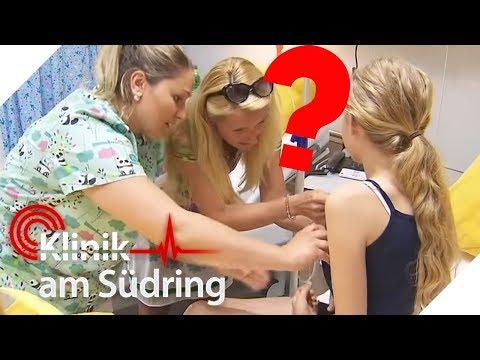 Lilly (11) schämt sich: Wieso darf niemand ihre Kleidung ausziehen? | Klinik am Südring | SAT.1 TV