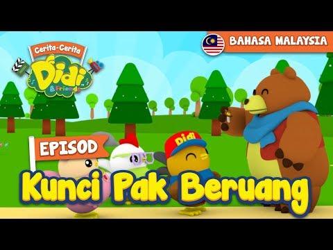 #23 Episod Kunci Pak Beruang | Didi & Friends
