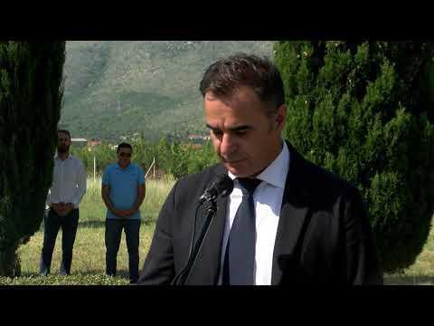 LIPANJSKE ZORE 1992 - Govor Generala Zbora HVO-a Stanka Sopte Baje, Mostar 11.lipnja 2018