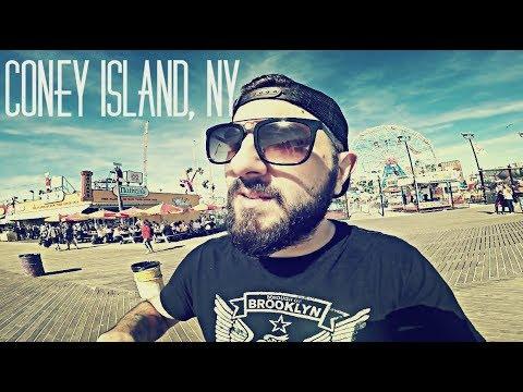 Un dia en Coney Island - NY Vlogs #5 - Burger Kid