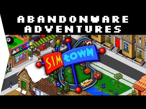 OMG THE MUSIC! - SimTown ► Retro Nostalgic 1995 City-building Town Sim - [Abandonware Adventures]