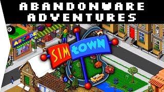 SimTown ► Retro Nostalgic 1995 City-building Town Sim - [Abandonware Adventures]