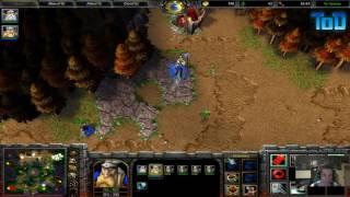 Warcraft III #211 - mannerhack- Human vs Orc (Last Refuge)