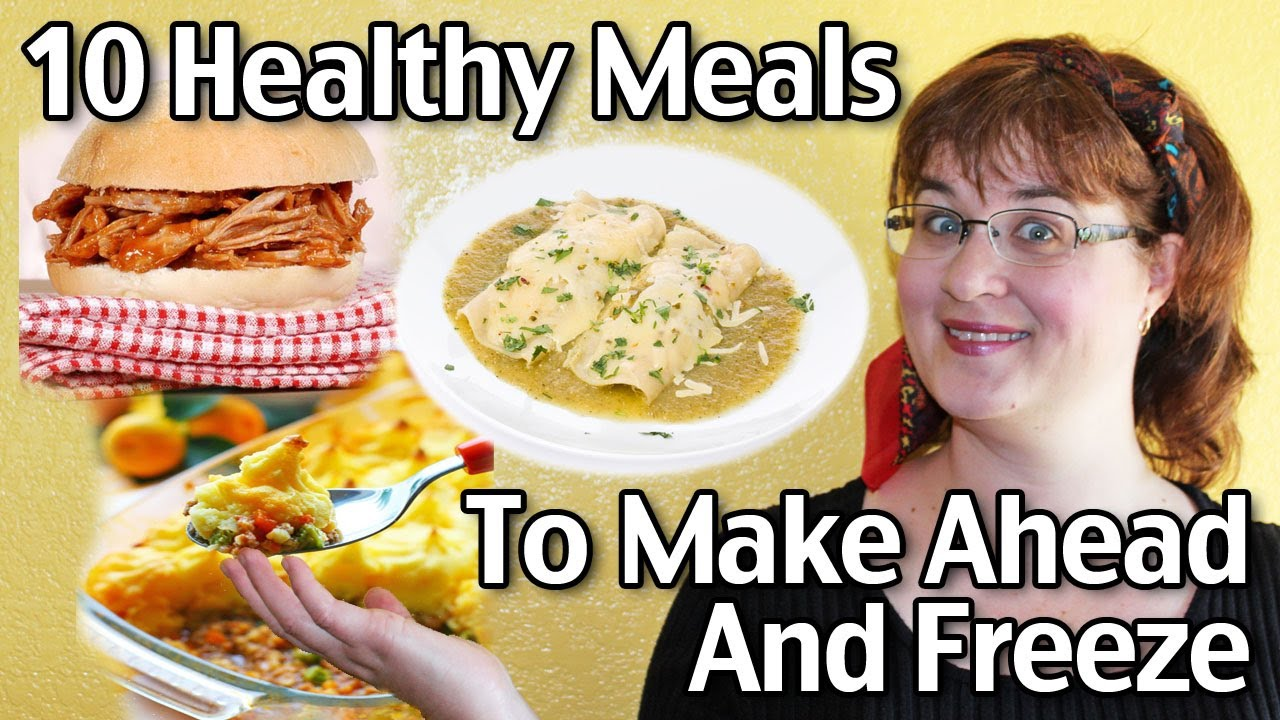 10 healthy meals to make ahead and freeze youtube youtube premium forumfinder Choice Image