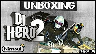 Unboxing DJ Hero 2 Bundle Party + Epic Gameplay no Multiplayer (wii)