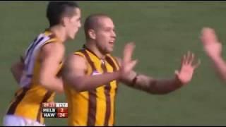 Round 18: Hawthorn vs Melbourne - 1st Half Highlights