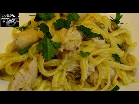 One Pot Chicken Pasta Piccata - with yoyomax12