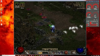 Let's Play Diablo II: Lord of Destruction - 02 - Cairn Stone Glitch! & Finishing Act 1