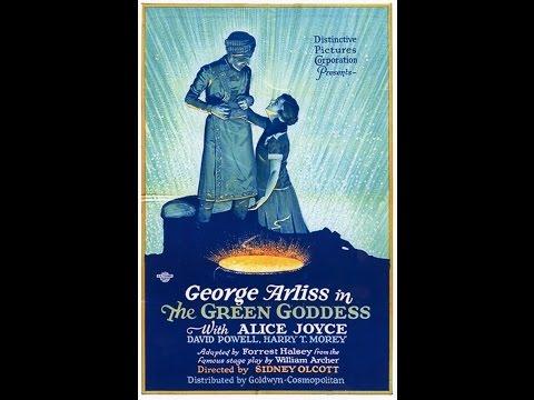 THE GREEN GODDESS (1923) starring George Arliss