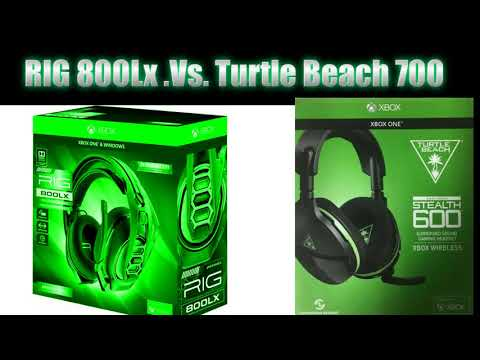 Turtle Beach STEALTH 700 VS Plantronics RIG 800LX review