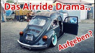 Käfer Hinterachse wieder auf Airride + Tuning World Bodensee 2018