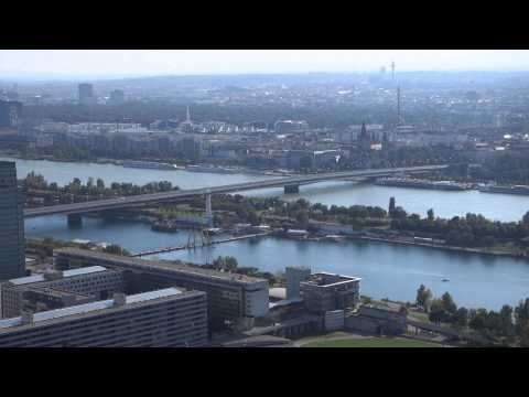DANUBE TOWER VIENNA [Donauturm Wien] PANORAMIC VIEW