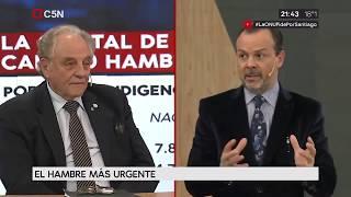03-10-2017 - Carlos Heller en C5N - Minuto Uno, con Gustavo Sylvestre