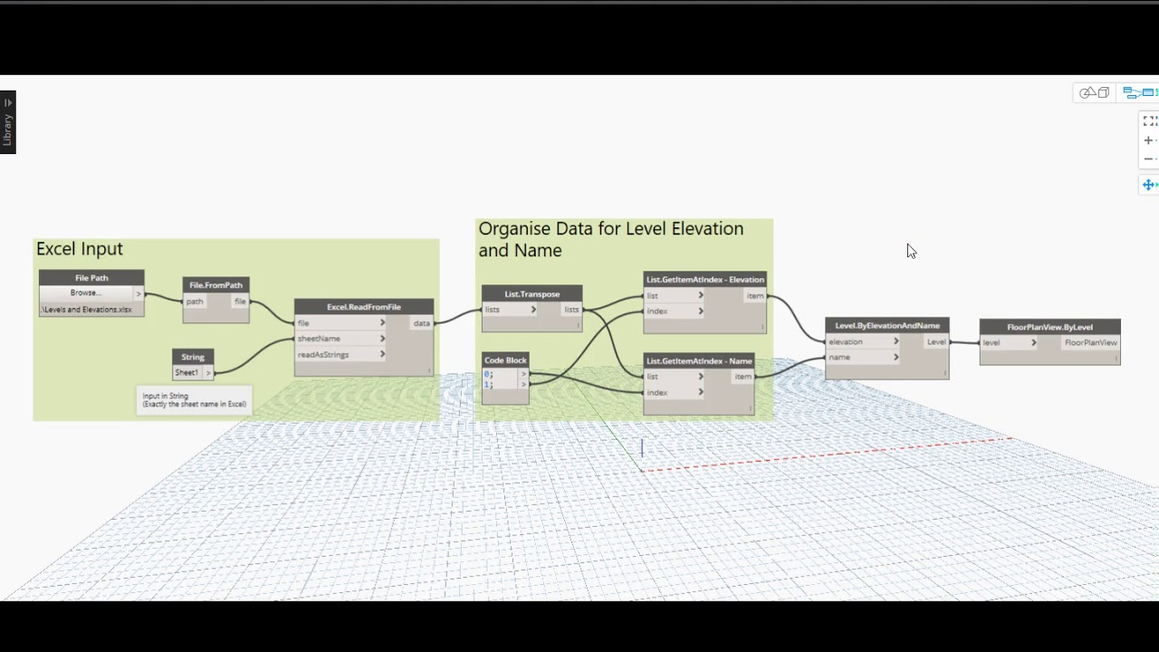 Dynamo For Revit   Levels And Floor Plans Creation.