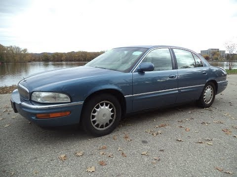 Test Driving A 1998 Buick Park Avenue Youtube