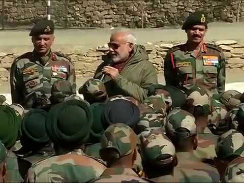 PM Narendra Modi celebrates Diwali with ITBP, Indian Army & Dogra