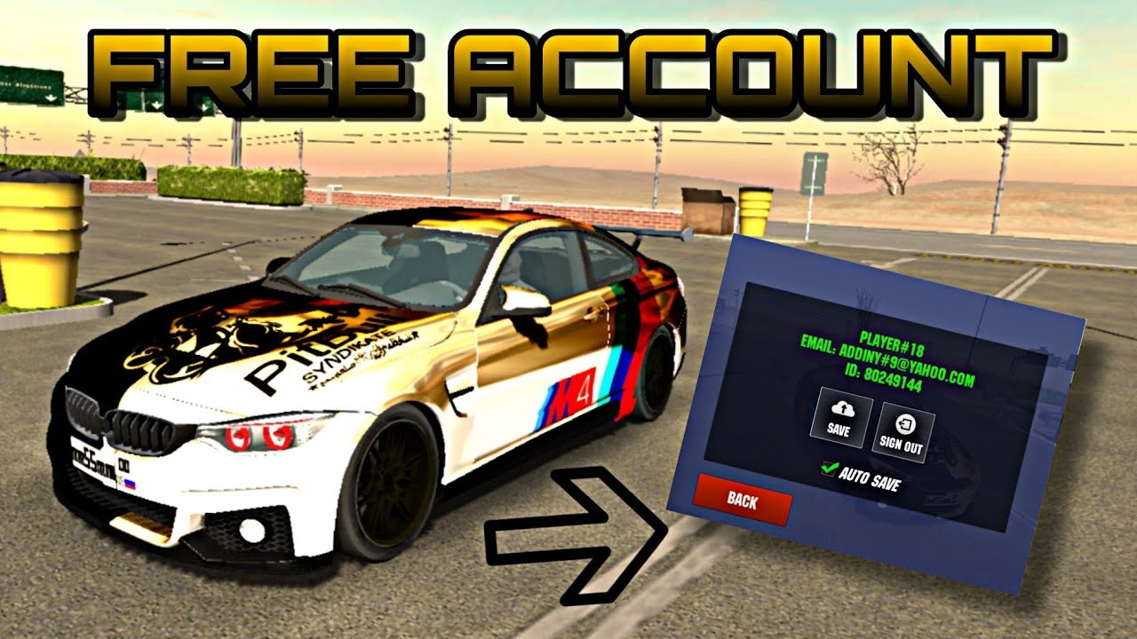 Car Parking Multiplayer Free Account 4 6 8 Youtube