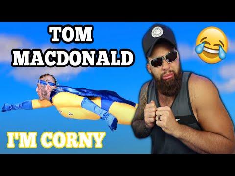 "TOM MACDONALD – ""Im Corny"" (DISS REACTION!!!)"