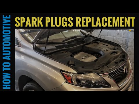 How to Replace the Spark Plugs on a 2010-2015 Lexus RX450h Hybrid