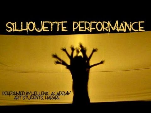 Silhouette Art Performance- Hellenic Academy (To Build a Home- Cinematic Orchestra)