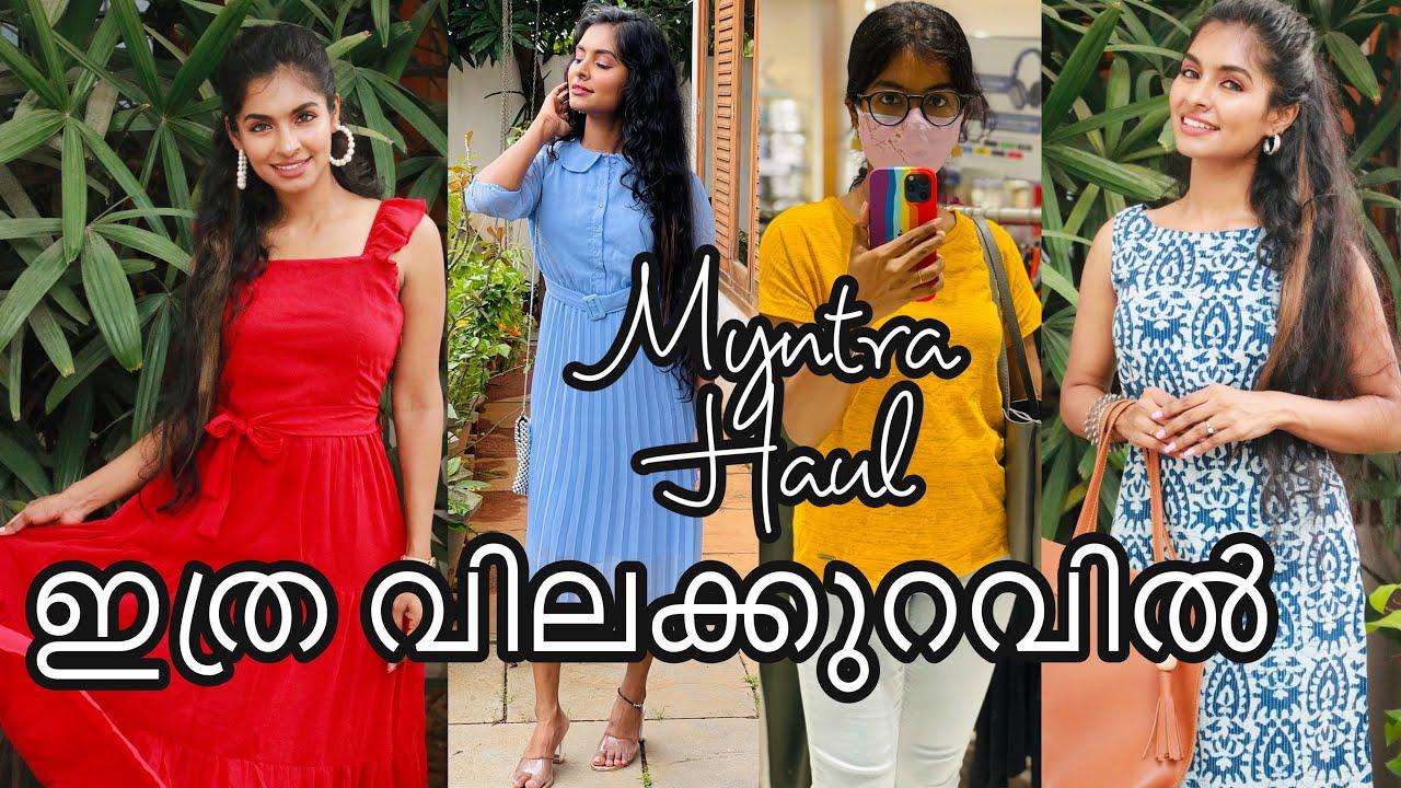 Myntra haul|Affordable stylish dress|daily wear tops|Jeggings & Kurtha under 700|Asvi Malayalam