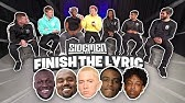 SIDEMEN FINISH THE LYRIC