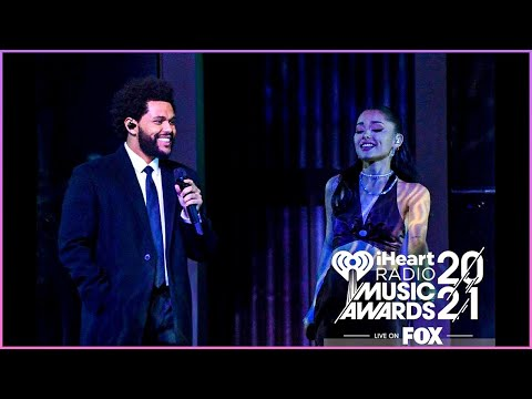 The Weeknd : Save your Tears Live Performance iHeartRadio Music #Shorts #YoutubeShorts #ArianaGrande