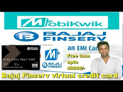 how to use Bajaj Finserv Virtual / Digital Emi card (Wallet) || in hindi