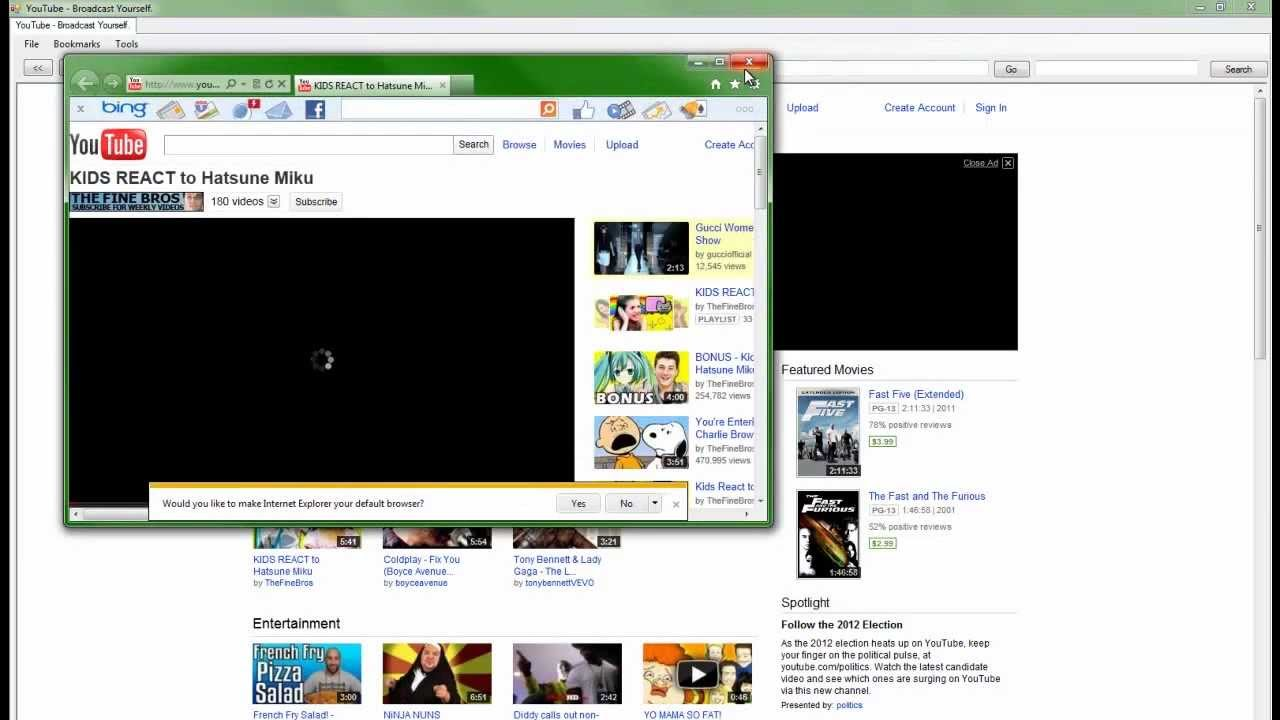 New tab and browser 57