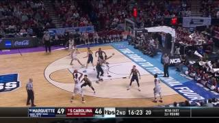 South Carolina vs Marquette March Madness Highlights 2017